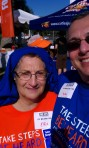 Suzanne and I at the 2012 Take Steps, Be Heard L.A. walk at Santa Monica Beach.