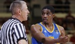 UCLA guard Lazeric Jones had a career night in loss at Stanford. courtesy: Paul Sakuma / AP