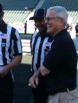 Ex-Bruins coach Dick Vermeil goes for 2nd straight NFLPA Bowl win. photo: Eric Geller