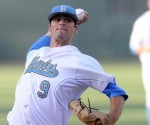 UCLA's Adam Plutko won his third straight game in CWS opener. courtesy: USAToday