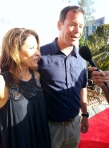 Shannon & Jim L. Mora strolling the red carpet at this year's celebrity golf classic.