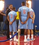 "(LtoR) Clippers' Chris Paul, DeAndre Jordan & Blake Griffin are ready for the bright lights in ""Tinsletown."""