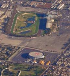 Rams owner Stan Kroenke purchased 60 acres of land between the Fabulous forum and Hollywood Park. Thanx: AP