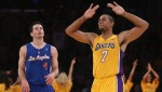 Xavier Henry and the Lakers beat J.J. Redick and the Clippers on opening night, 116-103. Thanx: AP