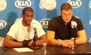 Chris Paul & Blake Griffin lifted the Clippers over the Rockets, 101-93 Wednesday night at Staples Center.