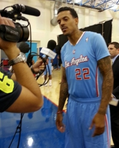 Matt Barnes was the star in the Clippers' 104-96 win over the Suns in Phonix Tuesday night.