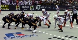 The LA KISS got shocked losing to Spokane, 70-21.