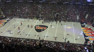 More than 10,000 fans saw the LA KISS lose, 70-21.