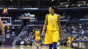 Candace Parker led everyone with 24 points in L.A.'s 87-77 win over Tulda.