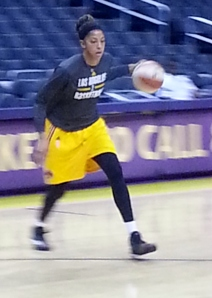 Candace Parker looks to lead the L.A. Sparks back into the playoffs with a win tonight over the Tulsa Shock at Staples Center.