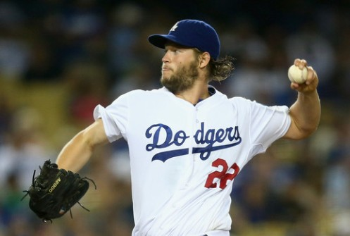 Dodgers ace Clayton Kershaw got his mlb leading 17th win Tuesday night as L.A. beat Washington, 4-1. courtesy: Jeff Gross/Getty Images