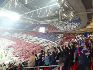 America's Game - NFL Football - celebrated at Wembley Stadium in London. courtesy: Tom Bateman