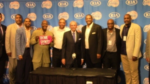"""Clippers - past and present - came back to Staples Center Monday night for """"Ralph Lawler Night."""""""