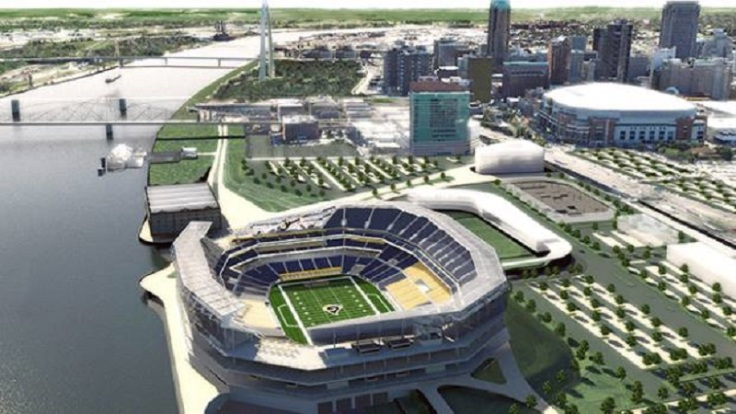 ST. LOUIS RIVERFRONT FANTASY STADIUM